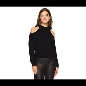 NWT ❤️Jack by BB Dakota cold shoulder blk sweater